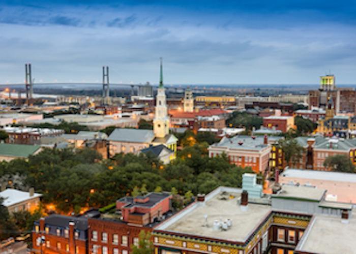 The Savannah skyline