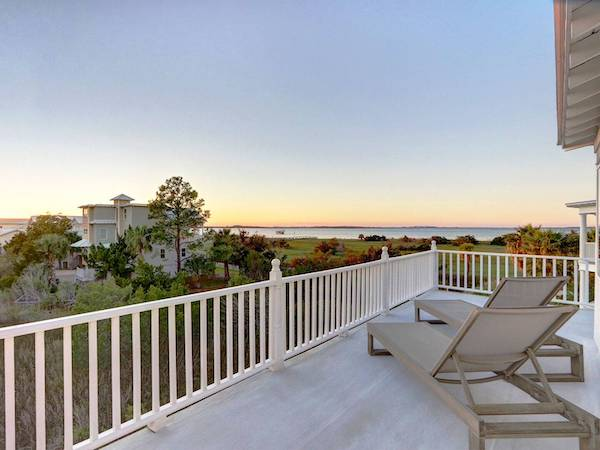 Views from a Tybee Island vacation rental